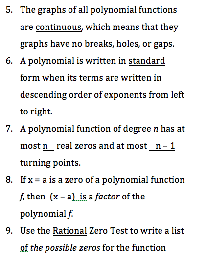 Unit 2 Exam Practice Problems Answers - Honors Precalculus